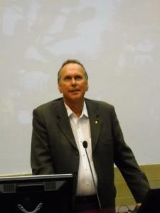 Steve Hopper at talks at teh Serventy Lecture