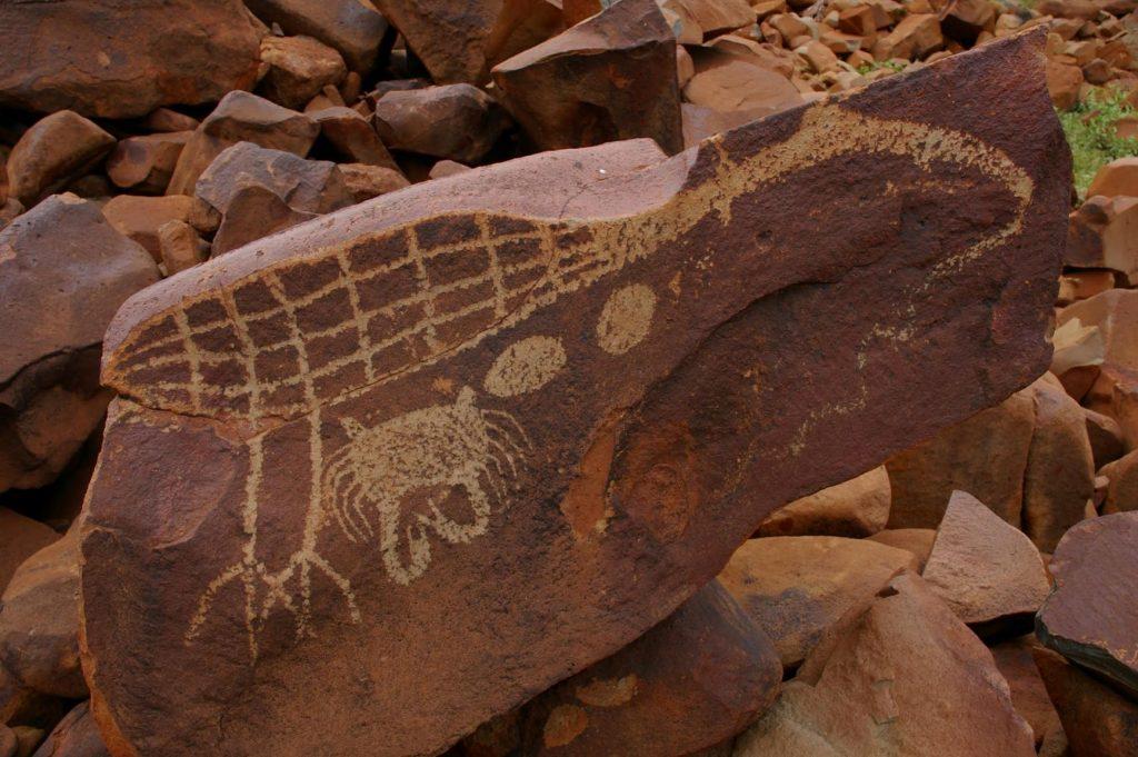 Rock art Burrup peninsula